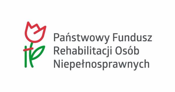 Logo Państwowego Funduszu Osób Niepełnosprawnych