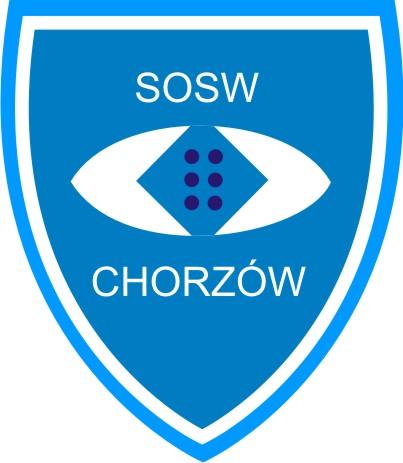 Logo SOSW dla Młodzieży Niewidomej i Słabowidzącej w Chorzowie